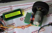 Control de velocidad PWM del sistema de Motor DC basado en PC