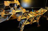 ¿Juego construcción Set utilizando cartón conectores de tarjeta