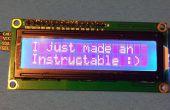 Cómo conectar una LCD serial a un Arduino UNO