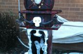 Reloj de abuelo de Halloween de espuma de poliestireno