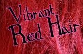 Mantenimiento de pelo rojo vibrante