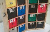 Upcycled componente organizador