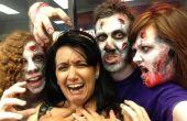 Maquillaje de Zombie para un martes
