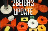 2BEIGH3 actualización de impresora 3D y probadores