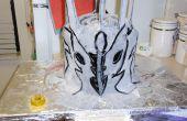 Tarta casco de Lord Sauron - un pastel para gobernarlos a todos!