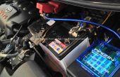 Instalación de DIY pivote estabilizador del voltaje y Cables de conexión a tierra en coche