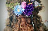 Hacer tu propio adorno para el pelo de hadas floral! Ideal para bodas y trajes.