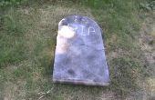 Romper piedra sepulcral