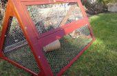 Precipitación al aire libre Tractor de conejo