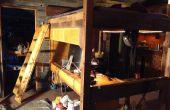 Loft cama escalera