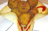 Delicioso frito profunda ' Tater bolas!