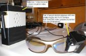 Gafas de montar pantalla a un ojo - convertirse usted mismo en un Borg
