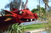 Marioneta de dragón armadura gigante