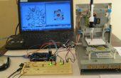 Mini CNC Arduino basado & Adafruit controlador Motor L293D v1 y 2 de la máquina * Mini Stepper reproductor de CD #1