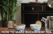 ¿Cómo hacer té de trigo sarraceno (Soba té)?