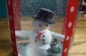 Cómo hacer un globo de nieve de vacaciones
