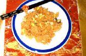 Cómo hacer Kimchi arroz frito con pollo
