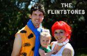 Los disfraces de Halloween de familia Picapiedra