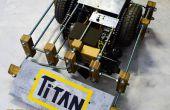 Titan: 30kg lucha contra Robot bajo $100