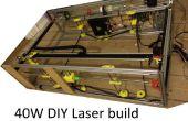 40W DIY CNC láser de corte, de impresión mala mejor con 3D