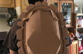TMNT tortugas concha mochila