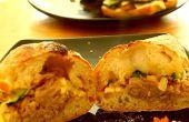 Cómo hacer cerdo tirado caseras Gourmet Sandwich