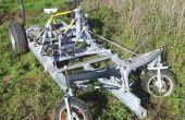 Bicicleta funcionado vehículo de 4 ruedas (DiffBikeDorli)