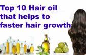 Top 10 aceite de pelo Natural para promover el crecimiento de cabello más rápido