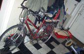 Remolque de bicicleta temporal