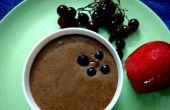 Dip de frutas chocolate yogur griego