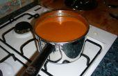 Asado sopa de tomate