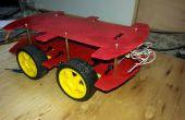 Cuerpo de coche de 4WD DIY para proyectos de robótica arduino y coches RC