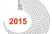 CALENDARIO 2015 en sólo la 1 página
