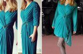 El vestido de noche Vintage remodelar Tutorial
