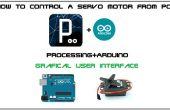 Cómo controlar un servomotor desde Pc con GUI