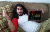 Bob Marley cumpleaños presente usando el cortador del vinilo