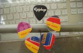 Hacer sus propias selecciones de la guitarra de regalo o tarjetas de crédito!