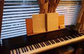 Hacer una partitura de reemplazo para el Korg dp - 3000c piano electrónico