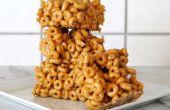 Mantequilla de maní Cheerio barras