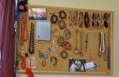 Panel de corcho accesorio organizador