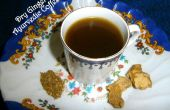 Secar café ayurvédico de jengibre (Chukku Kapi)