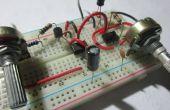 Basic (PWM) Control de velocidad del Motor utilizando el 555 temporizador ICs