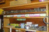 Hacer barato, fácil cartón pequeñas piezas almacenamiento organizadores
