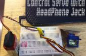 Control de Servo con auriculares