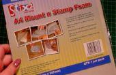 Cómo hacer sellos de goma madera espacio guardar sellos utilizables con Mount N' sello espuma