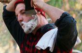 Cómo Afeitarse con un hacha