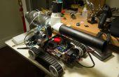 PiTank - un tanque web controlada con cañón y transmisión en vivo de video