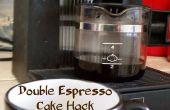 Espresso doble torta Hack