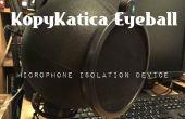 Dispositivo de aislamiento del micrófono globo ocular KopyKatica