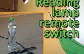 Interruptor remoto de la lámpara de lectura